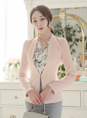 Retail Lady beads Slim Jacket
