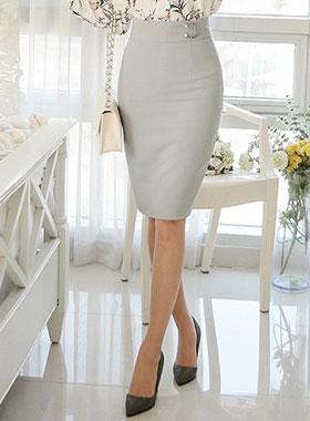 hapeuring pearl Slim Skirt