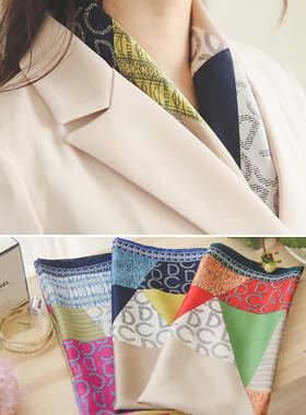 Luxury Scarf pattern mix