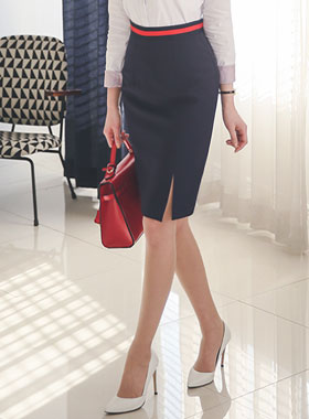 Taping Basic color combination Skirt
