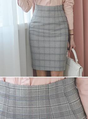 Check Classic Glen Span Skirt