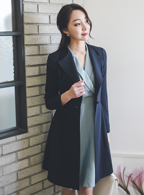 Wing Color minimal stitch Jacket