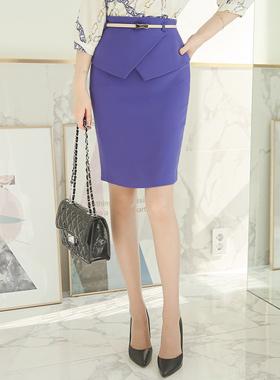 Marion Tulip Skirt Plum page