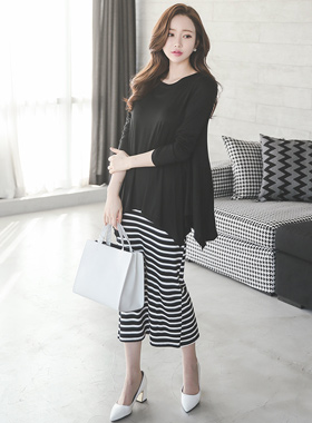 Flare tower not Stripe Dress