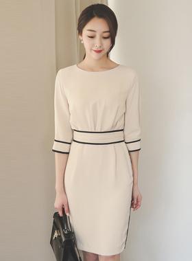Bias volume shearing Dress