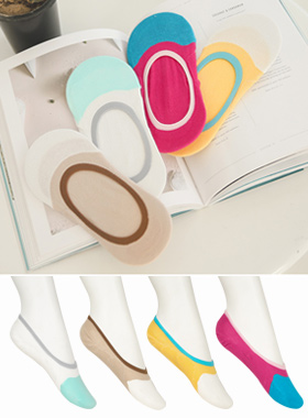 Colorful cotton silicon Slipper