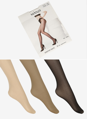 20D Slim nude stockings