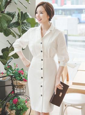 Diana Cotton Shirt Dress