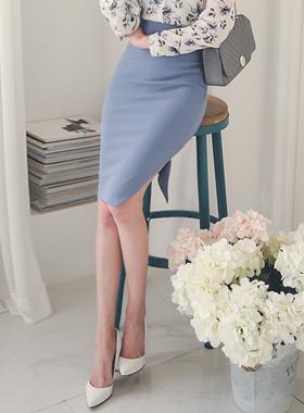 Marion oblique incision teuim Skirt