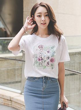 Spring Flower Frame T-shirt