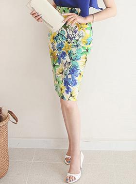 Fantasia Floral Skirt