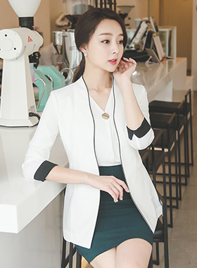 Wave Piping line Jacket (sleeve 7)
