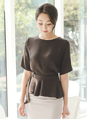 Two-way peppler SET Blouse