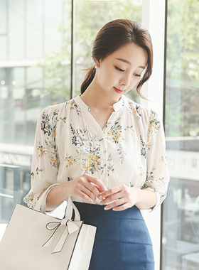 Madeleine Floral Cotton Blouse