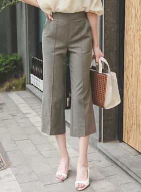 Pinto Linen Cotton Wide Pants