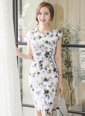 Lobelia cap sleeve Dress