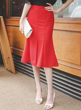 High Admirable Deep Slit Skirt