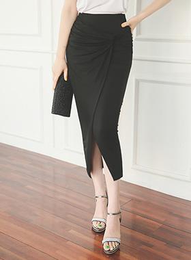 Gram Drape Wrap Rong skirt