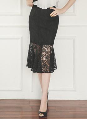 Elegance Race Mermaid Skirt