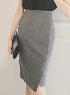 Piping Waste Lap Incision Skirt