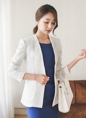Modern Cotton Slab Jacket