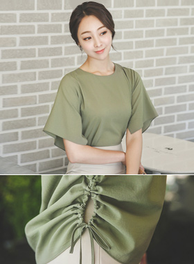 Side string two-way Blouse