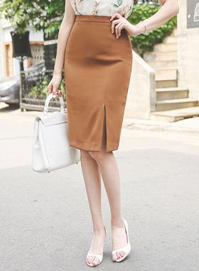 Formal side slit Skirt