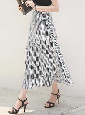 Conical Stick Pattern Rong skirt