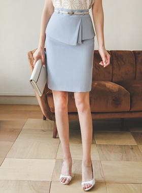 Pleats Peppler Skirt (summer)