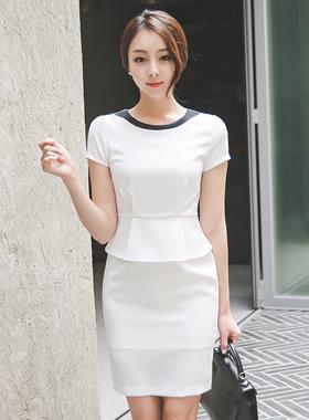 Modern color combination Peppermint Dress