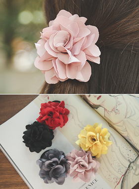 Handmade Satin Flower Hair strap