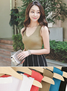 Cooling Tension Sleeveless Knit