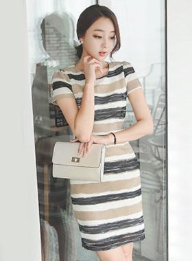 Mash Weave color combination Dress
