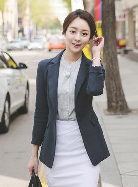 simple Taylor Slim Linen Jacket