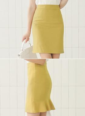 RIVER BACK Ruffle Skirt (summer)