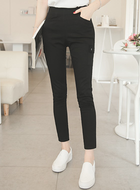 Cargo Cotton span High Skinny
