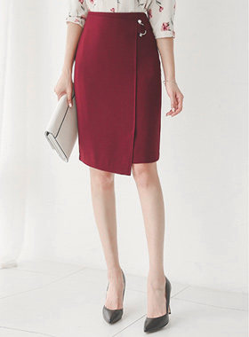 Pearl Ring Beech Lap Incision Skirt