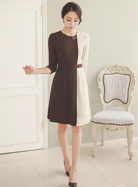 Color combination Aline Dress