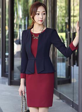 Lady Jacket layered Dress