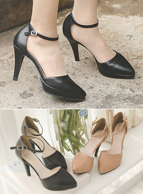Platform shoes Strap Cushion Stiletto heel