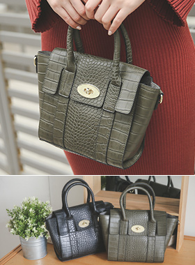 Alex Varnish Mini Tote & Cross Bag