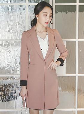 Modern Taylor Slim Long Jacket (fall)