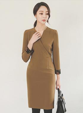 Modern color combination SUPPLIES Dress II