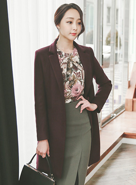 Modern Coloration Tailored Coat