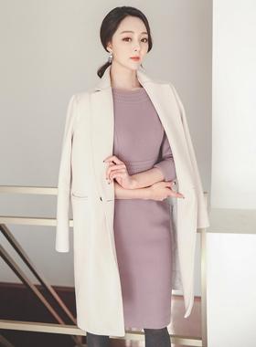 Double pocket stitch Tailored Stiletto coat II