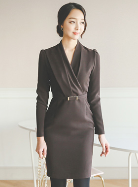 Modern Suffice Suede Dress