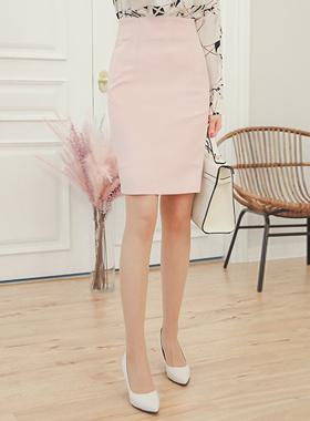 simple dart high waist Skirt (spring)