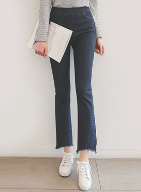 Boot cut Boot Banding denim pants