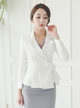 chic Taylor Belted Lap Jacket