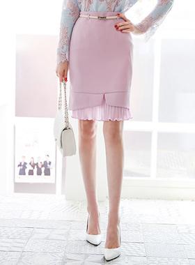 Wrinkle Pleats Skirt